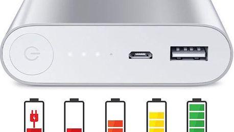 Externí baterie s USB i Micro USB portem pro mobilní zařízení