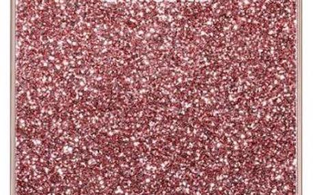 Samsung EF XG928CP Glitter zadní kryt S6Edge+,Pink