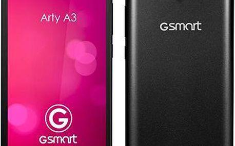 GIGABYTE GSmart Arty A3 černý Dual SIM