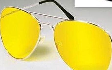 Polarizační brýle pro řidiče, Nigh View NV Glasses! Poštovné zdarma! Moderní design a tvar obrouček.