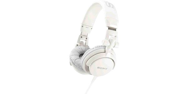 Sony MDR-V55W, bílá - MDRV55W.AE