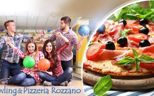 Bowling na 1 až 4 hodiny + 1x až 4x výborná pizza dle výběru a laserová střelnice na 30 nebo 60 minut v Jaroměři!