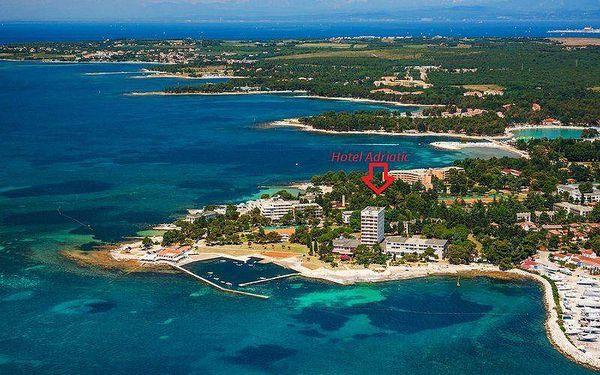 Hotel Adriatic - Istrie, Istrie, Chorvatsko, vlastní doprava, polopenze