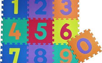 Alltoys Pěnové puzzle Čísla - 10 ks
