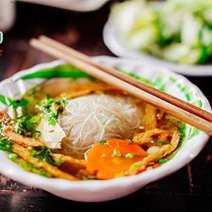40% sleva na vybraná jídla ve veganské vietnamské restauraci Mr. Hau