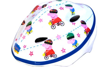 Dino Bikes Dívčí helma Peppa Pig