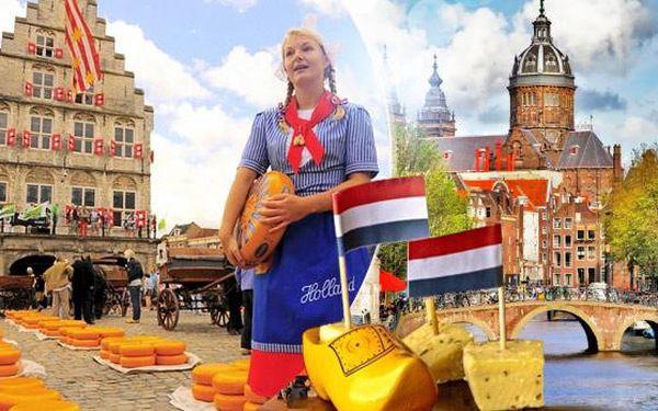 Amsterdam: 4denní zájezd pro 1 osobu s 1x ubytováním a návštěvou města Alkmaar z Prahy i Brna! Srpen a září