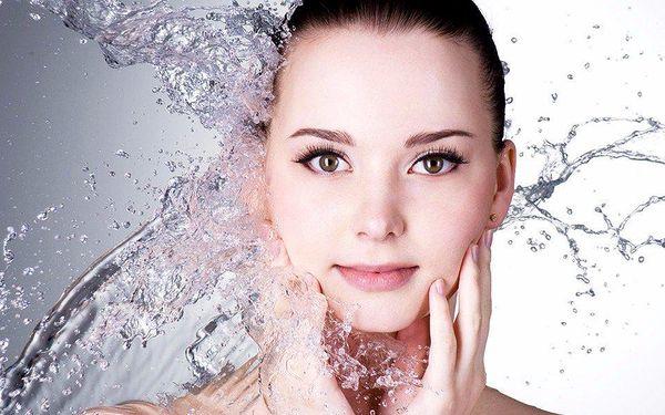 Kosmetické ošetření s peptidovým sérem