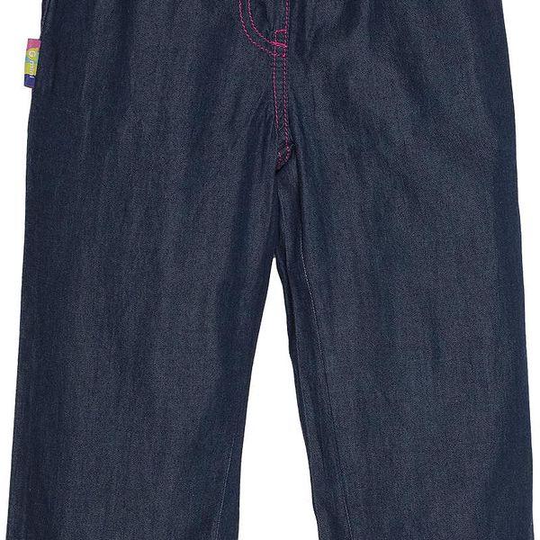 G-mini Dívčí modro-růžové kalhoty, 104 cm
