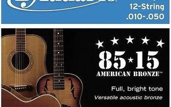 Daddario EZ940 Struny pro dvanáctistrunnou kytaru