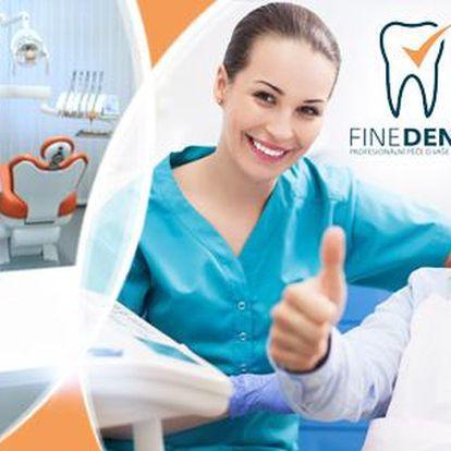 50min. kompletní dentální hygiena + fluoridační lak pro prevenci vzniku zubního kazu a posílení skloviny na Praze 2!