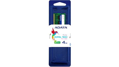 ADATA Premier 4GB DDR3 1600 CL 11 - ADDS1600W4G11-R