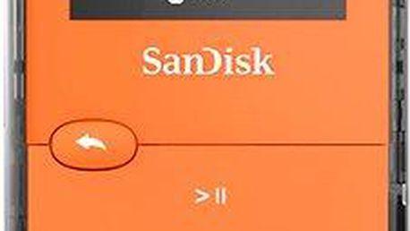 SanDisk Sansa Clip Jam 8GB oranžový