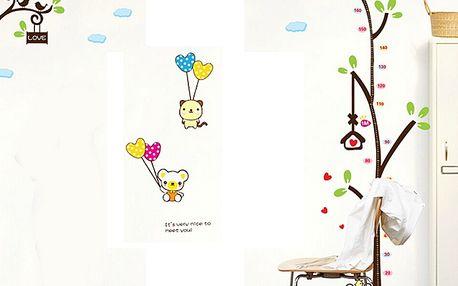 Hravý strom metr pro děti 60 x 90 cm