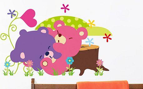 Roztomilí medvídci 45 x 30 cm