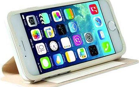 Krusell MALMÖ FLIPCASE STAND pro Apple iPhone 6 Plus, bílé