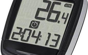 Cyklopočítač Sigma Baseline 500 černý + Doprava zdarma