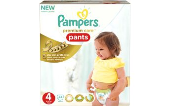 Pampers Premium Care Pants 4 Maxi 9-14kg, 44ks kalhotkové pleny