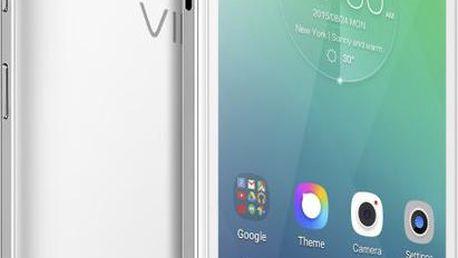 Lenovo Vibe P1m, bílá - PA1G0013CZ + Zdarma SIM karta Relax Mobil s kreditem 250 Kč