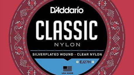 Daddario EJ27H Nylonové struny pro klasickou kytaru