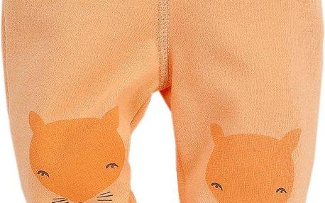 Pinokio Dětské polodupačky s liškou - oranžové, 62 cm