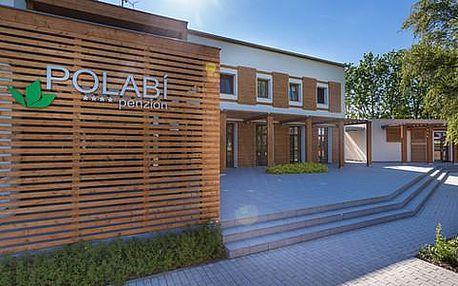 Víkendový pobyt pro 2 osoby v Penzionu Polabí**** s polopenzí, relaxací ve wellness a zapůjčení kol
