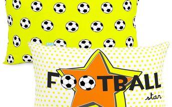 Mr. FOX Povlak na polštář Football, 50x30 cm