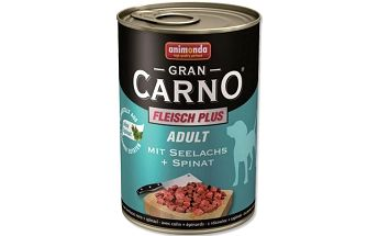 Animonda konzerva losos + špenát 400 g