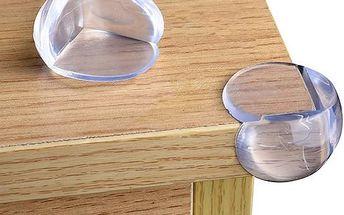 Průhledné ochrany hran stolů - 12 ks - skladovka - poštovné zdarma