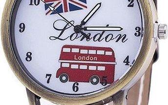 Hodinky s motivy Londýna - poštovné zdarma