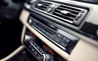 Čištění nebo dezinfekce autoklimatizace
