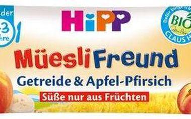 HiPP BIO Broskvovo-jablečná müsli tyčinka 20g