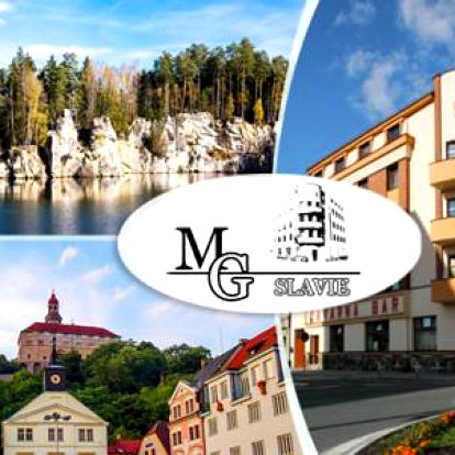 Dovolená u Adršpachu s polopenzí pro dva v Hotelu MG Slavie