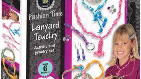 Fashion time Výroba provázkových šperků, Barevná