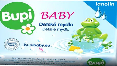 BUPI Dětské mýdlo s lanolínem 100g