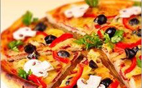 2 kousky vypečené Mambo pizzy přímo z pece. Jedlíci spěchejte, máme jen omezený počet kusů.