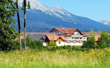 3–6denní pobyt s polopenzí, neomezenou saunou a fitness v hotelu Autis*** v Tatrách pro 2