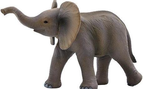 Animal Planet Slon africký mládě, Hnědá