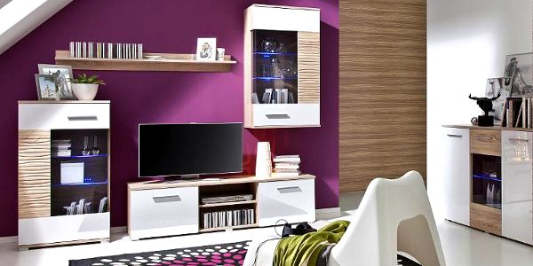 Luxusní nábytek do obývacího pokoje BRICO 5