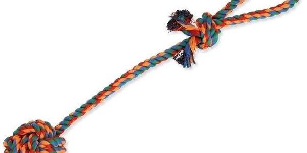 Dog Fantasy hračka přetahovadlo házecí barevné 45 cm