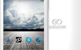 Mobilní telefon GoClever Quantum 4, bílý + 200 Kč za registraci