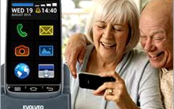 Android smartphone - EVOLVEO EasyPhone D2 pro seniory se snadným ovládáním za výprodejovou cenu!