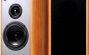 Creative Sound Blaster E-MU XM7 Bookshelf Speakers - hnědé