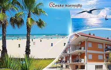 Itálie, San Benedetto del Tronto: 7 nocí v apartmánu 50 metrů od pláže včetně dopravy od 1990 Kč/osoba!