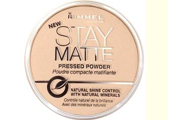 Rimmel London Stay Matte Powder pudr 001 Transparent 14 g