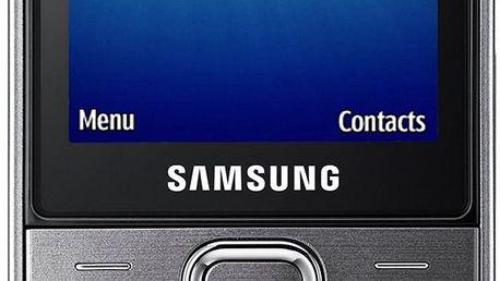 Mobilní telefon Samsung S5611, stříbrný + 200 Kč za registraci