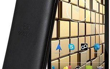 Mobilní telefon GoClever Insignia 5X, černý + 200 Kč za registraci