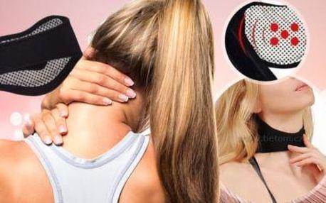 Samozahřívací krční pás proti bolesti včetně poštovného! Rychle zahřeje, uvolní svaly a vytváří úlevu.