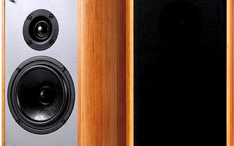 Creative Sound Blaster E-MU XM7 Bookshelf Speakers - hnědé