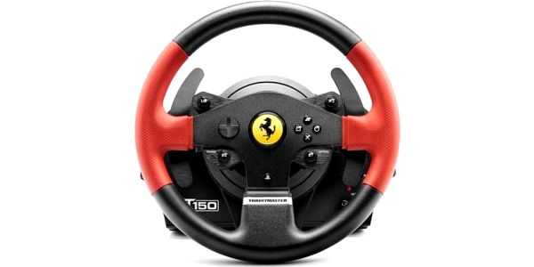 Thrustmaster T150 Ferrari pro PS4, PS3 a PC + pedály (4160630)